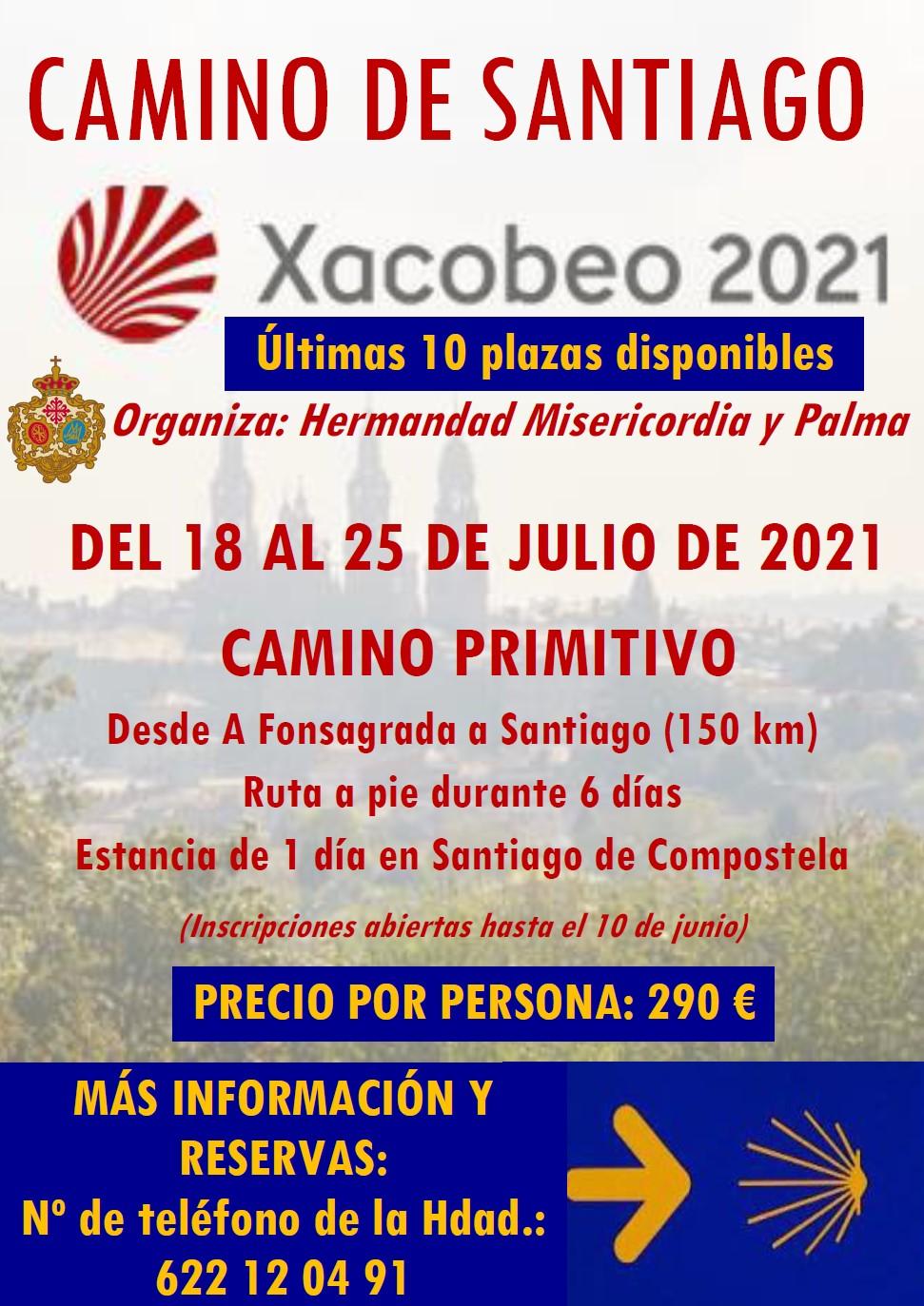 Últimas 10 plazas para el Camino de Santiago