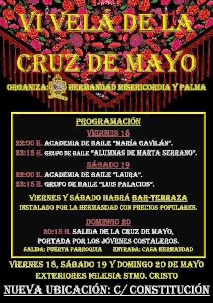 Celebración de la VI Velá de la Cruz de Mayo.
