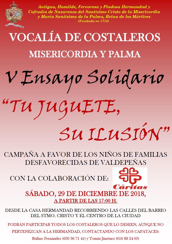 V Ensayo Solidario