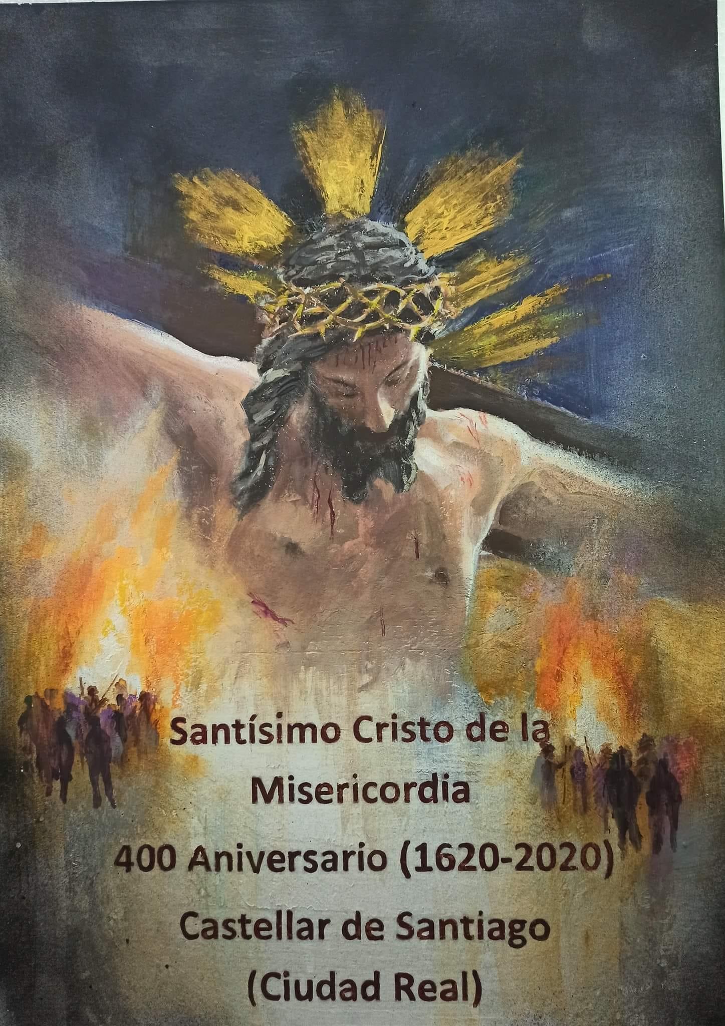 Nuestra Hermandad presente en los actos del 400 aniversario del Stmo. Cristo de la Misericordia de Castellar de Santiago.
