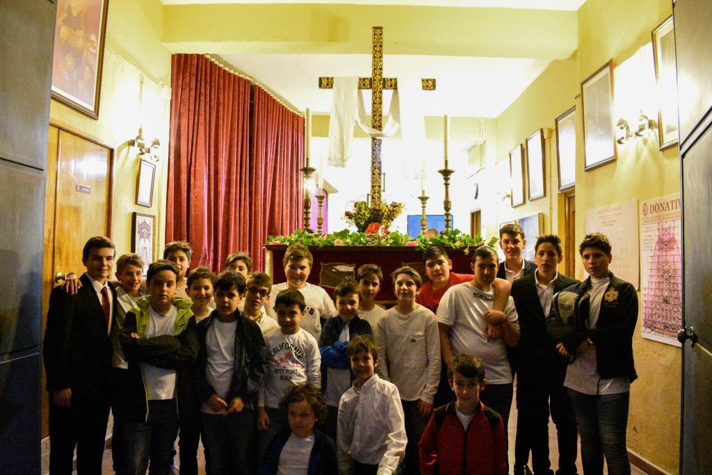 Galería fotográfica de la Salida Infantil de la Cruz de Mayo de la Hermandad 2019