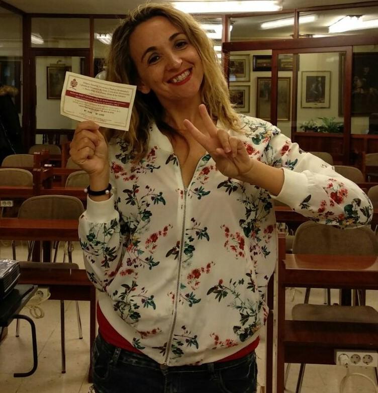 Entregado el premio del sorteo de Cuaresma realizado por la Hermandad de Misericordia y Palma.