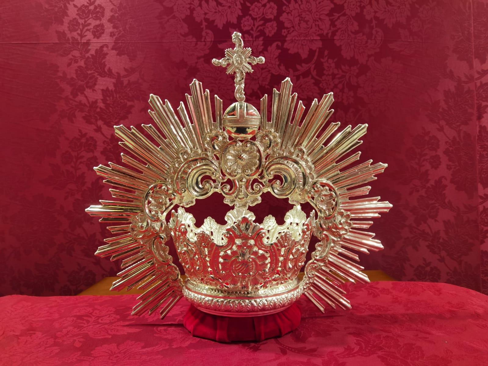 Bendecida una nueva corona para María Stma. de la Palma, Reina de los Mártires.