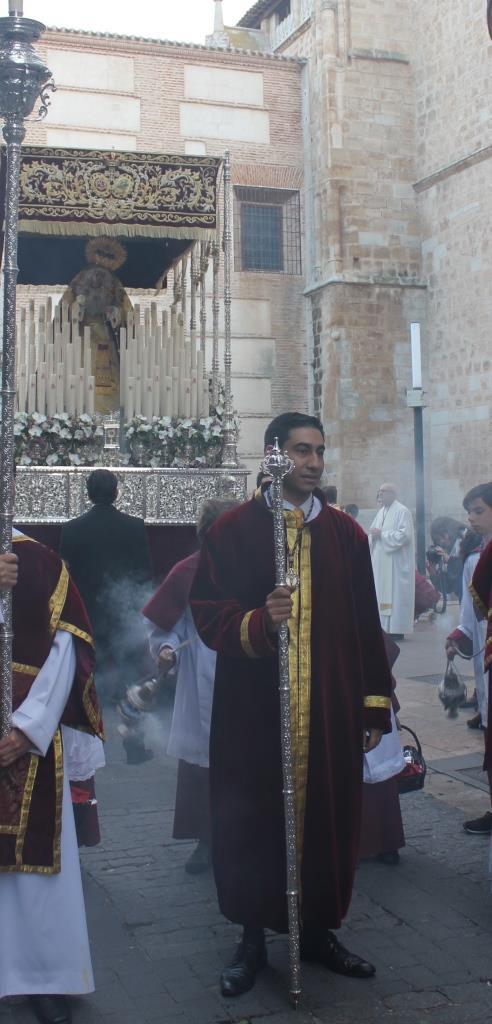 Omar Torres Martínez, elegido Pregonero de la Hermandad de Misericordia y Palma para el Jueves Santo 2019.