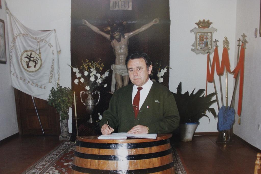 25 años sin Rafael Pérez González, Capataz Perpetuo y Honorario de la Hermandad de Misericordia y Palma.