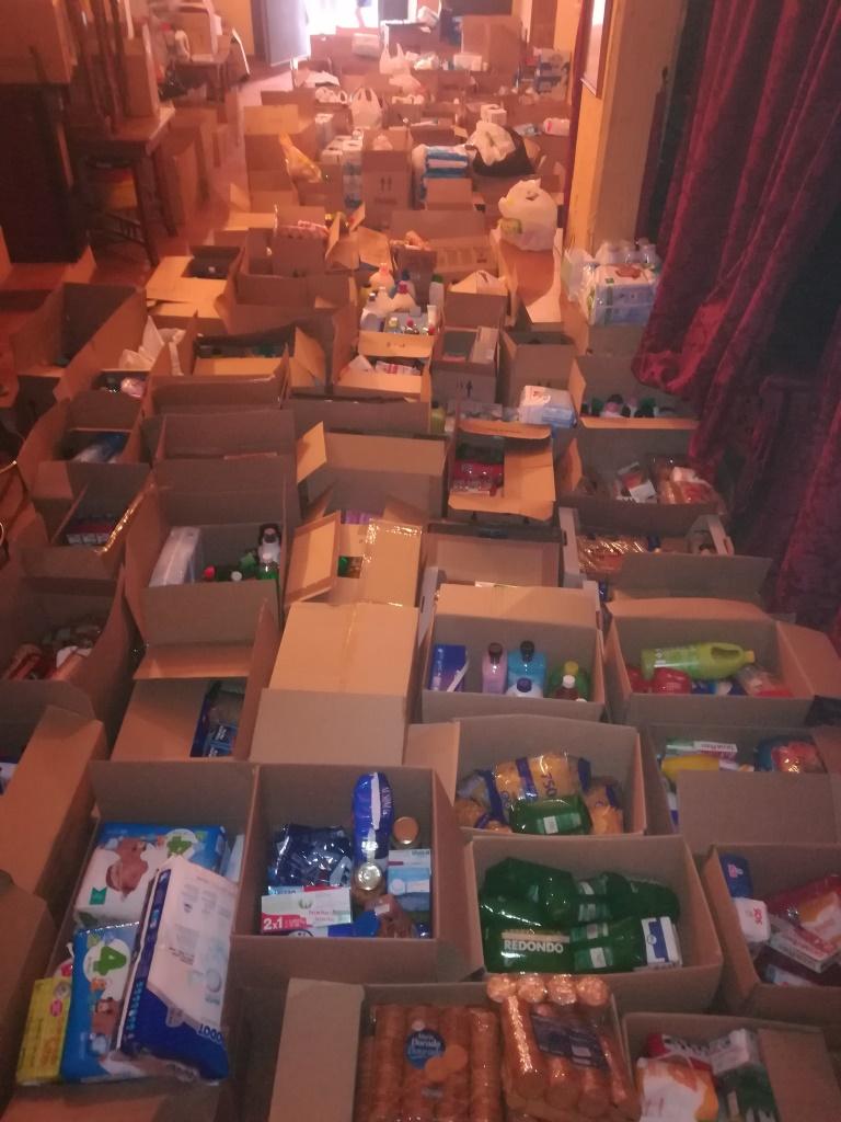 3.980 kg han sido recogidos por la Bolsa de Caridad de la Hermandad de Misericordia y Palma en su Campaña de recogida de alimentos y productos de higiene y aseo personal.