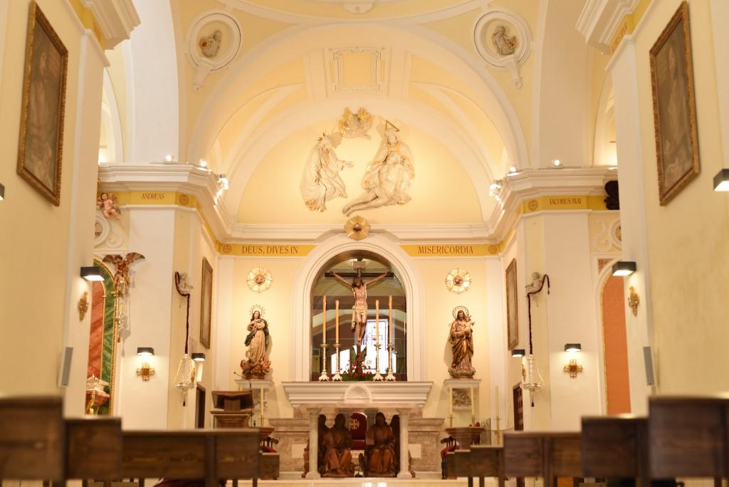 Jornadas de puertas abiertas al público para visitar la restaurada Iglesia Parroquial del Stmo. Cristo de la Misericordia. Sábado 10 y domingo 11 de octubre.