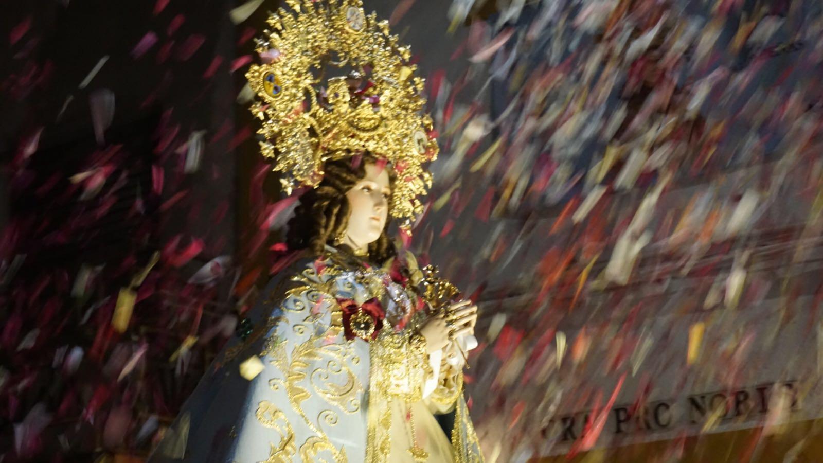 Ofrenda floral y procesión de la Patrona de la ciudad, la Virgen de Consolación.