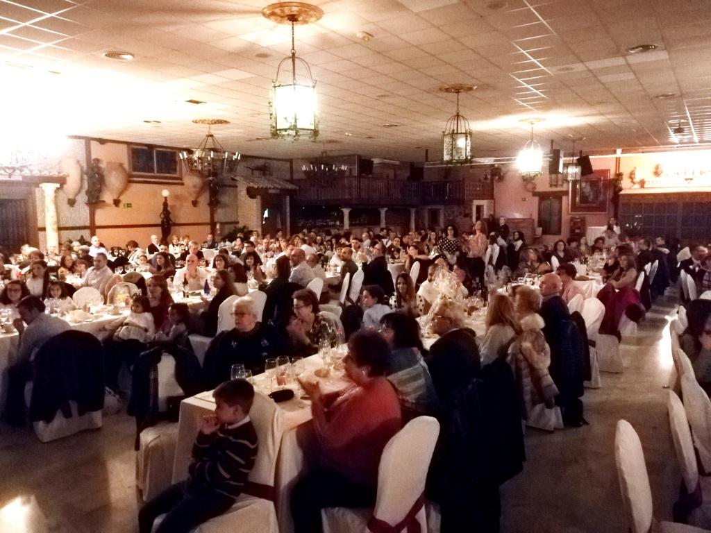 211 personas asistieron a la XIII Comida Solidaria de la Bolsa de Caridad