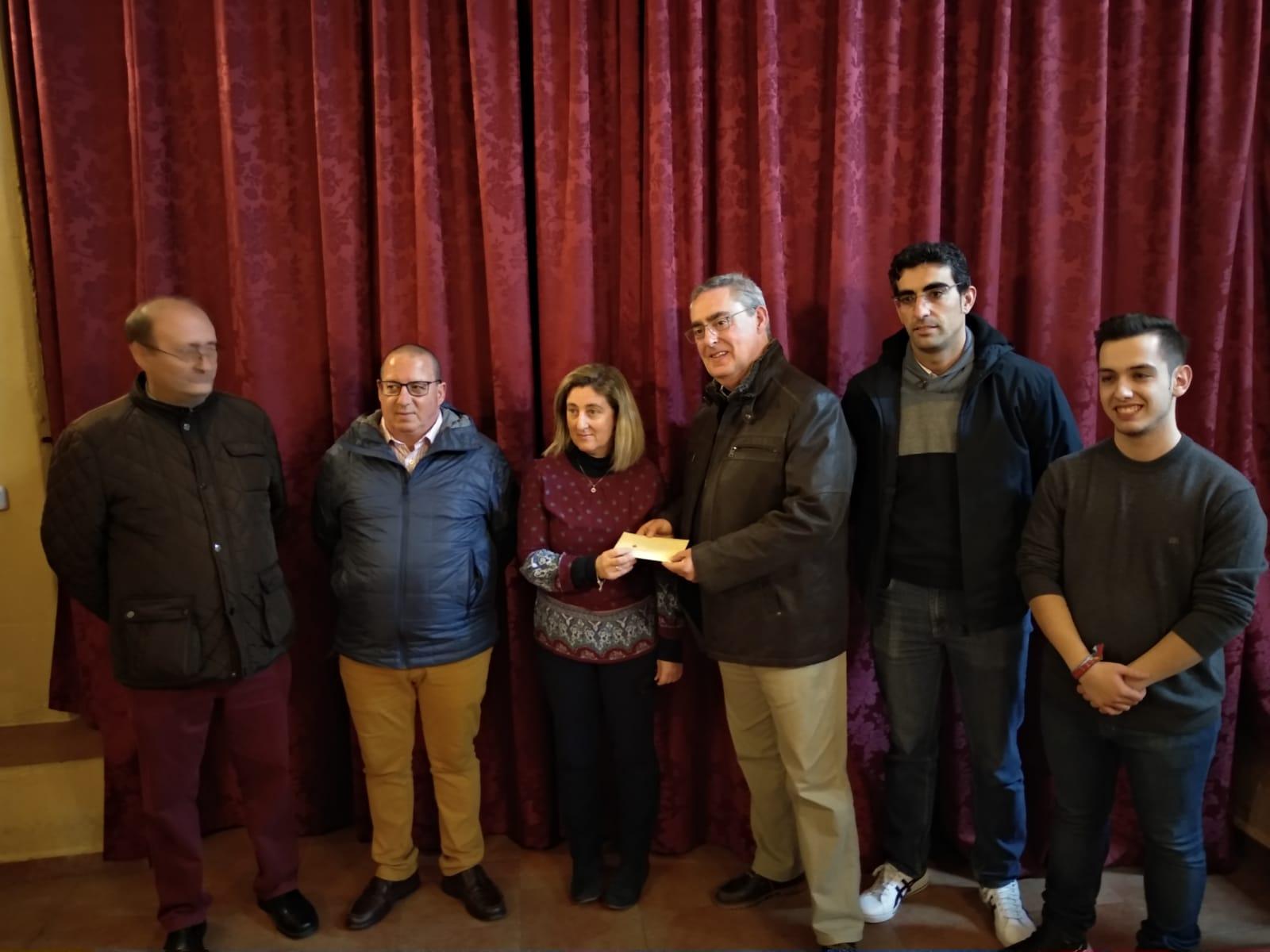 XI Roscón Solidario Bolsa de Caridad: 1.400,65 € son entregados a la Obra Social de la Coronación de la Patrona a favor del Proyecto