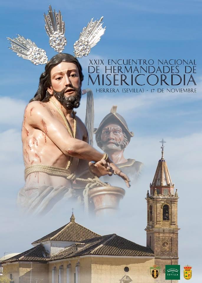 Misericordia y Palma asistirá al XXIX Encuentro de Hermandades de la Misericordia de Andalucía en Herrera (Sevilla).